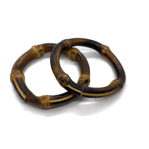 Bamboo Napkin Rings (Set of 2)