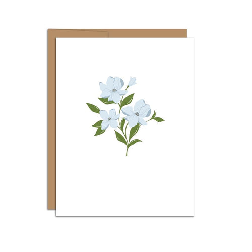 Dogwood Sprig Greeting Card