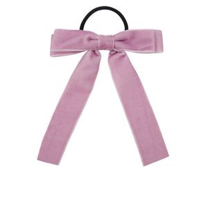 Velvet Elastic Bows (2 Color Options)
