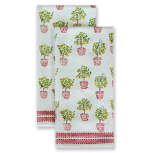 Partridge Tea Towels, Set of 2