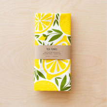 Load image into Gallery viewer, Lemon Tea Towel