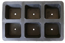 Load image into Gallery viewer, 6 Module XL Natural Rubber Seed Tray