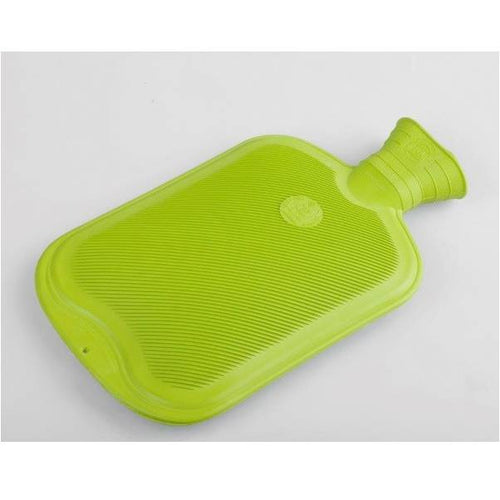 Natural Rubber Hot Water Bottle (Green)