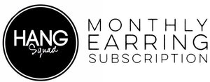 HANGSQUAD monthly earring subscription