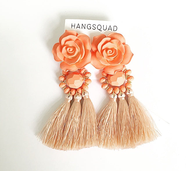 Statement Flower Tassel