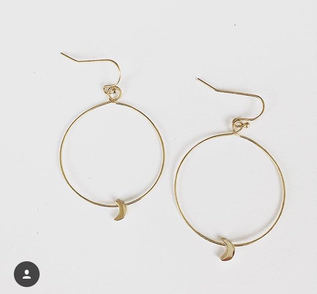 Simple Hoop Moons