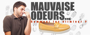 éliminer odeurs chaussures