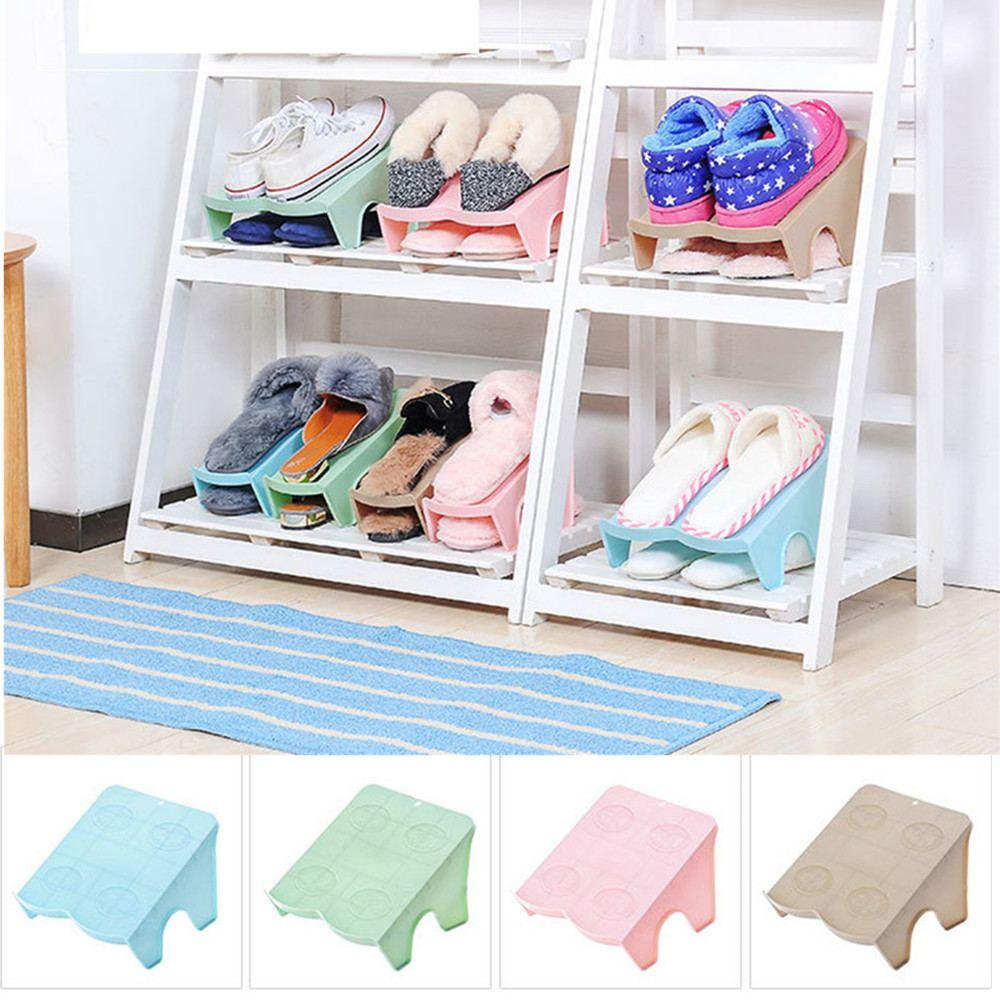 Meuble Rangement Chaussures Entree pfote - accessoire rangement chaussures double