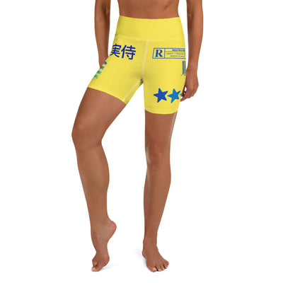 Banana Raider Yoga Shorts