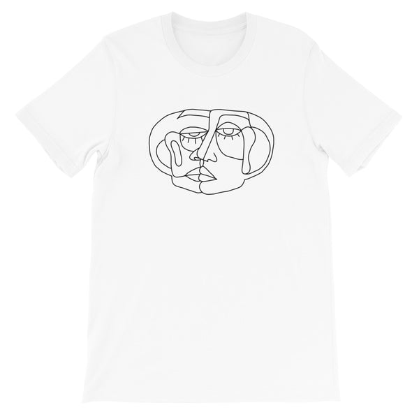 Two-Faced Unisex T-Shirt