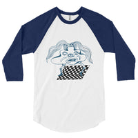 3/4 Sleeve Dancing Blob T-Shirt