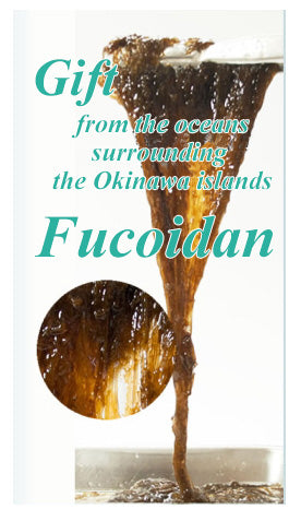 Fucoidan made from Okinawa mozuku