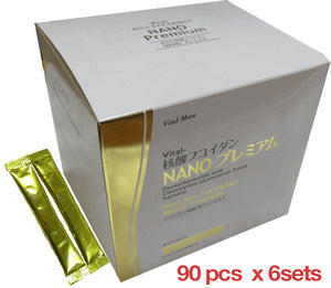 Vital-Nucleic Acid Fucoidan Nano Premium 90 packets x 6 sets