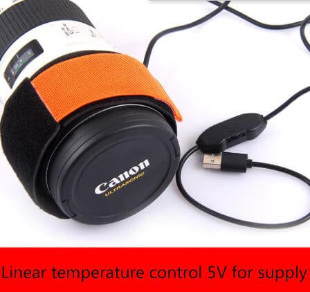 Heater Strip for Camera Lens