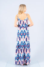 Tiered Bottom Detailed Maxi Dress
