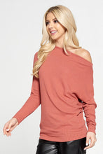 Sienna Rib Knit Off the Shoulder Top