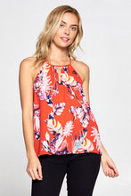 Floral Print Racer back Top