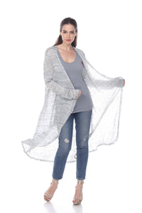 LONG SLEEVE LIGHTWEIGHT CARDIGAN