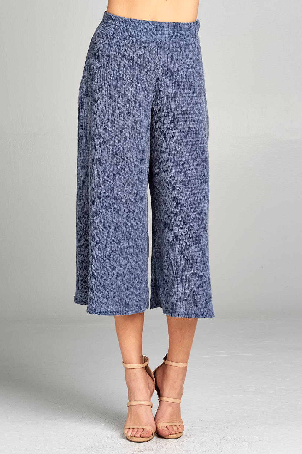 PALLAZO RIBBED PANTS
