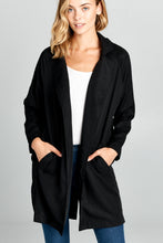 OVERSIZED JACKET WITH FRONT POCKETS