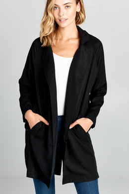 Oversize Jacket With Front Pockets
