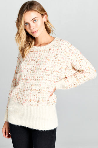 KNIT MULTI-COLOR SWEATER