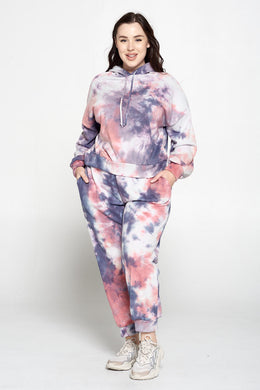 Tie Dye Jogger Pants with Pockets
