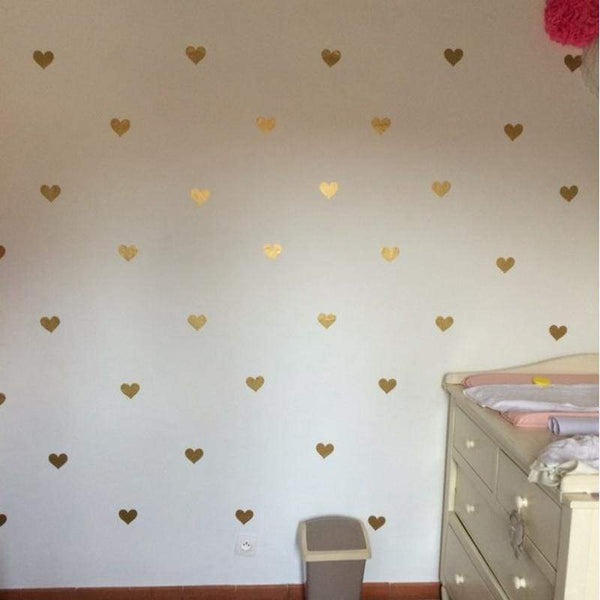 Hearts Wall Decoration Decals - Home Decor Decals