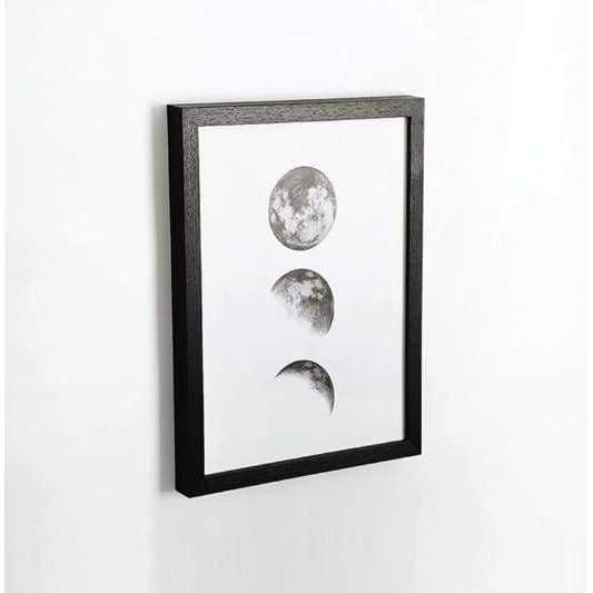 Wood Wall Art Frames - Black / 5x7 inches - Picture Frames
