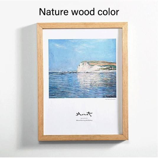 Wood Wall Art Frames - Nature wood color / 5x7 inches - Picture Frames
