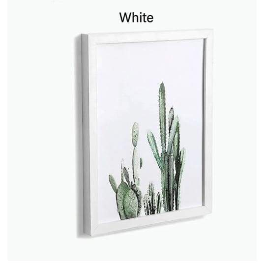 Wood Wall Art Frames - White / 5x7 inches - Picture Frames