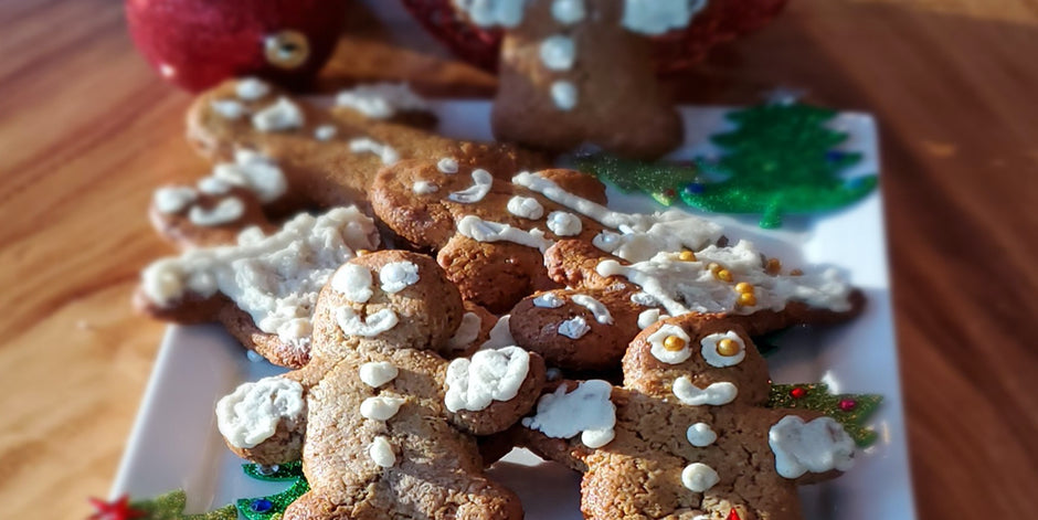 High Protein Gingerbread cookies