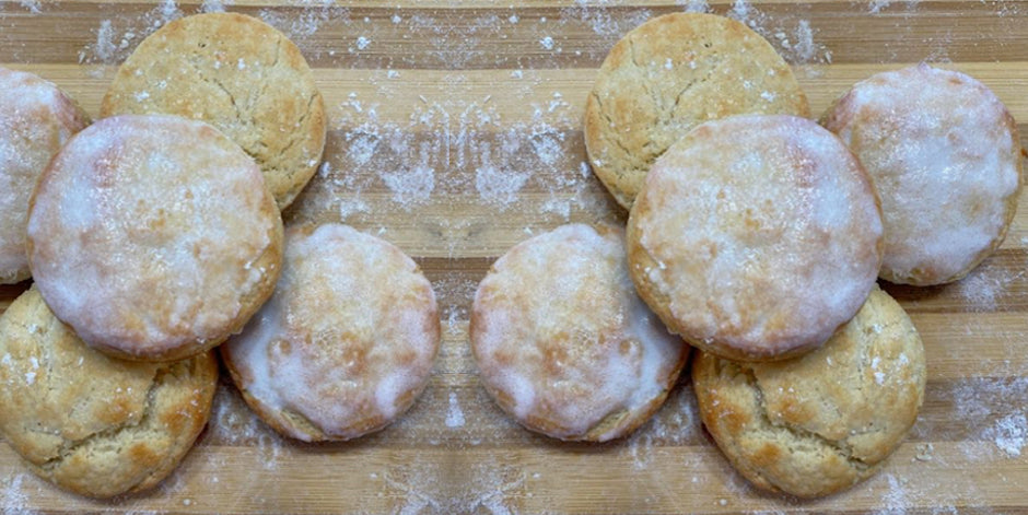 Lemon Protein Scones