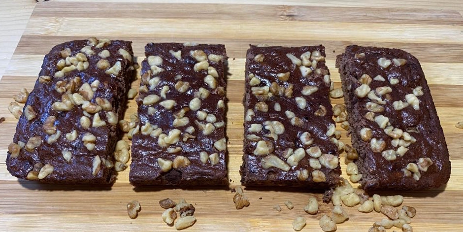 Quick Protein Brownies