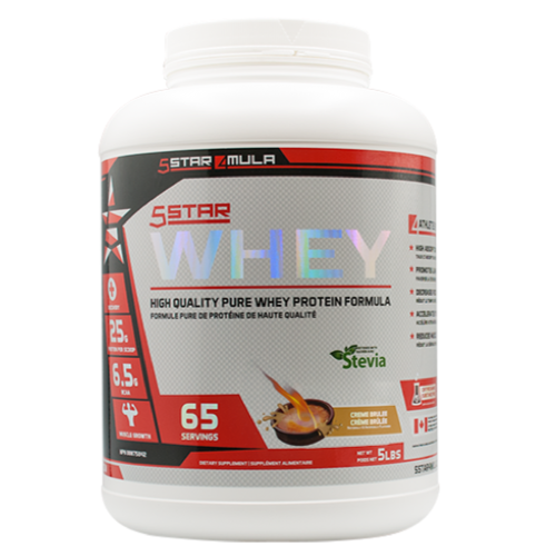 5Star4Mula Whey Protein Creme Brulee (2465840758861)
