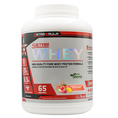 5Star4Mula Whey Protein Strawberry Mango (2465840758861)