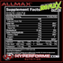 ALLMAX ISOFLEX  CHILLER NUTRITION FACTS (2465795801165)