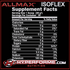 ALLMAX ISOFLEX NUTRITION FACTS (2465847738445)