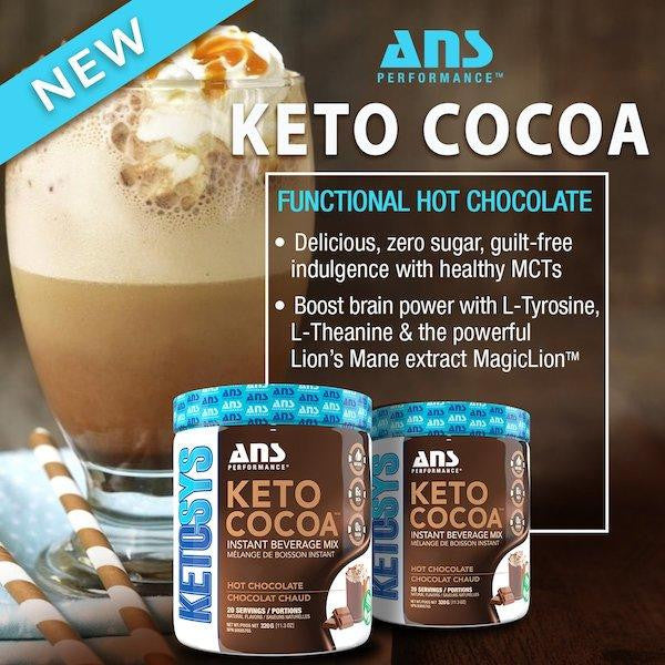 ANS Keto Cocoa - 20 Servings a