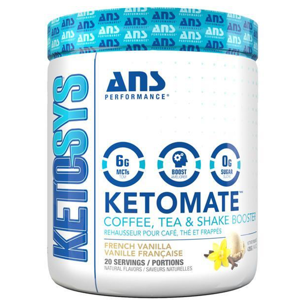 ANS Ketomate - 20 Servings French Vanilla (4185185419341)
