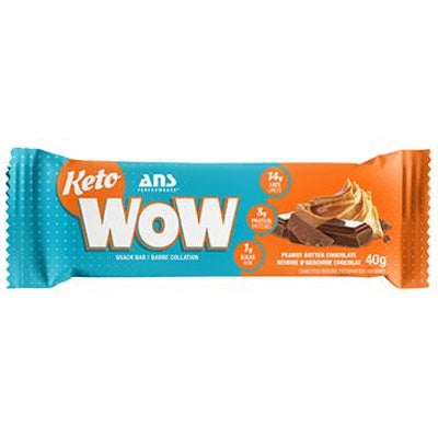 ANS Performance KETOwow Bar - 1 Bar Penaut Butter Chocolate