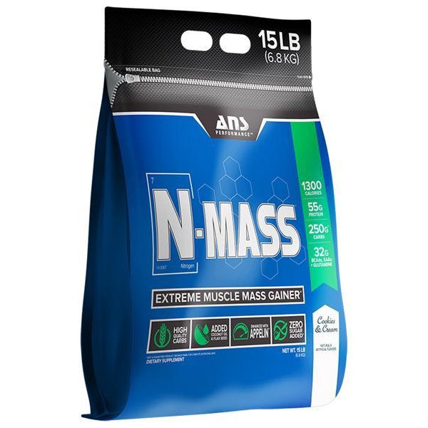 ANS Performance N-MASS Gainer - 15lb Cookies & Cream