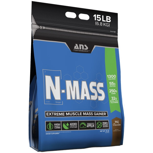 ANS Performance N-MASS Gainer - 15lb Milk Chocolate