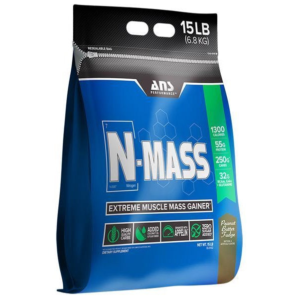 ANS Performance N-MASS Gainer - 15lb Peanut Butter Fudge