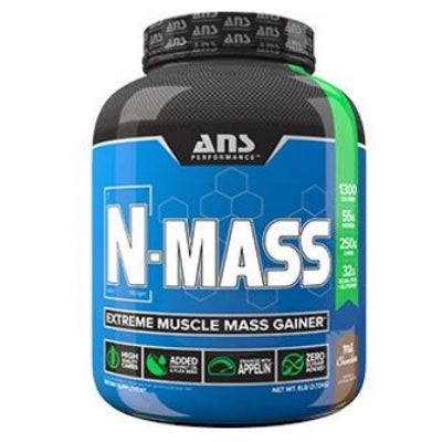 ANS Performance N-MASS Gainer - 6lb Chocolate