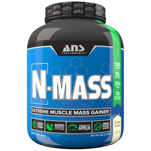 ANS Performance N-MASS Gainer - 6lb Vanilla