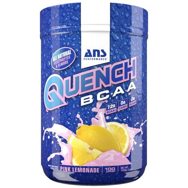 ANS Quench BCAA - 100 Servings Pink Lemonade