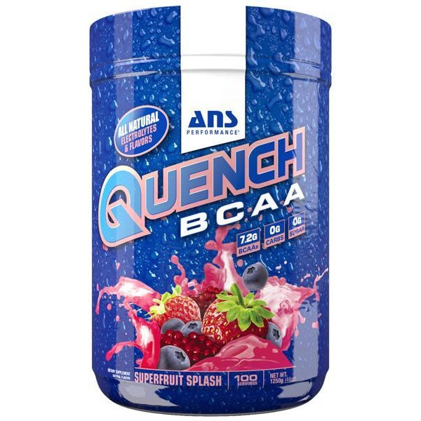 ANS Quench BCAA - 100 Servings Superfruit Splash