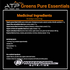 ATP Greens Pure Essentials NUTRITION FACTS INFO