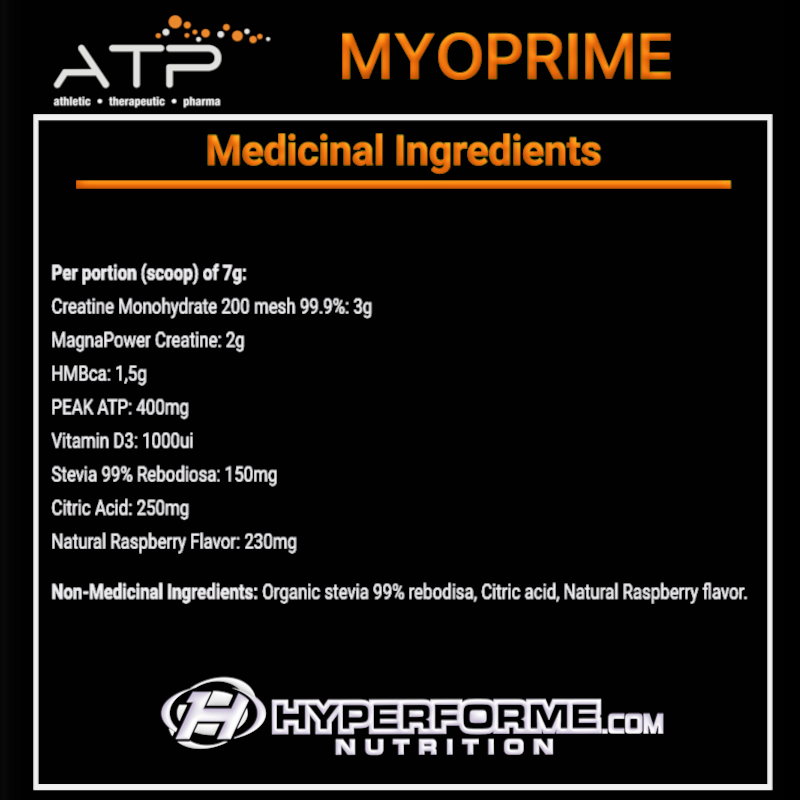 ATP MYOPRIME NUTRITION FACTS INFO (2465868480589)